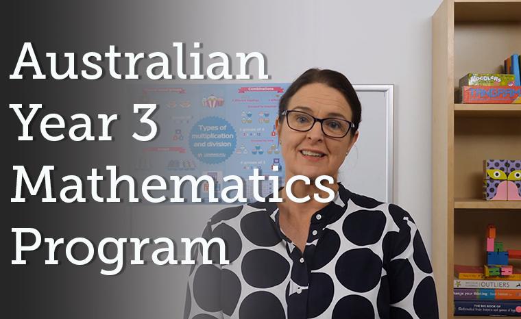 Australian Curriculum - Year 3 Mathematics  - EARLY PEEK