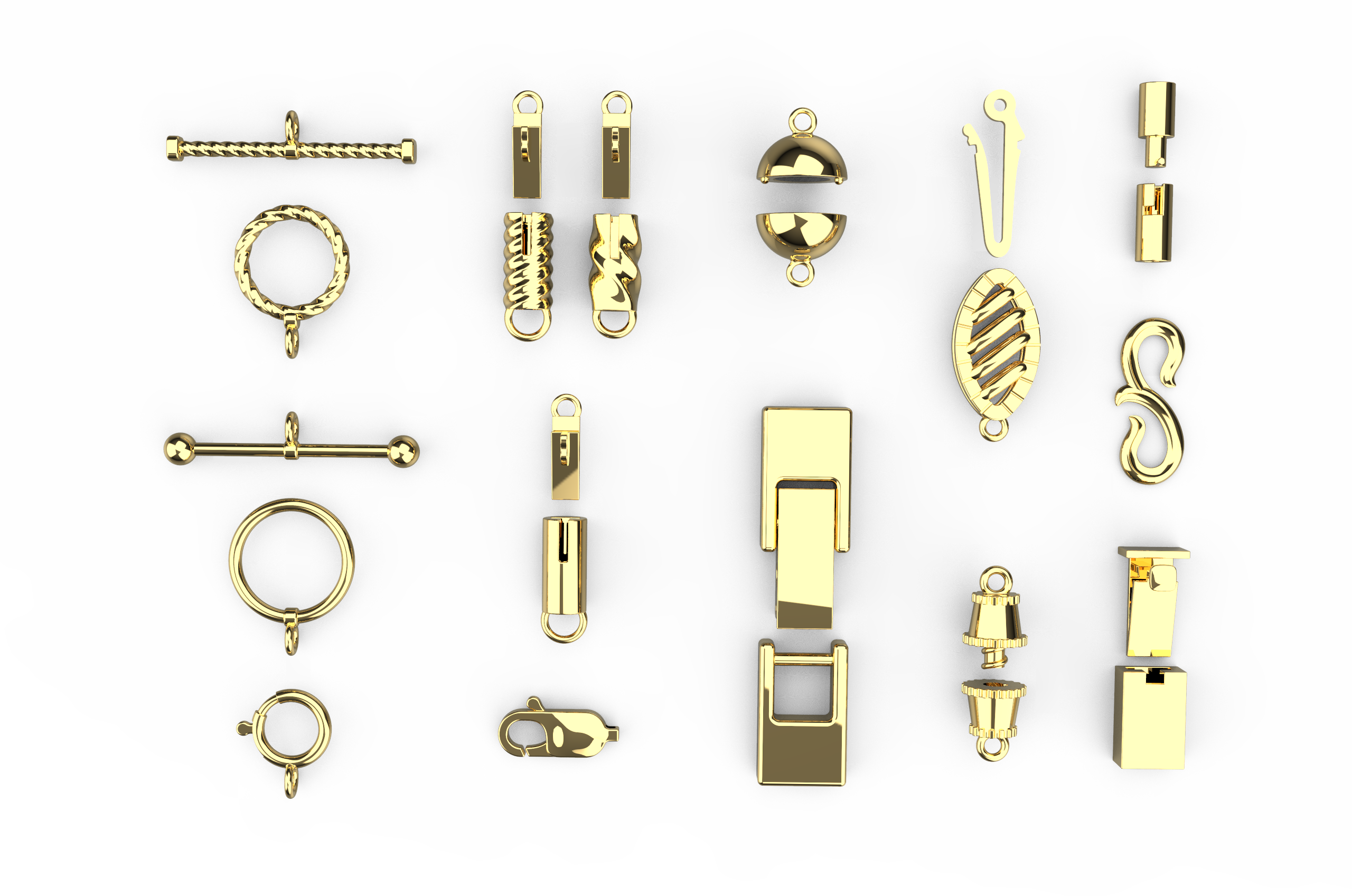 jewelry cad design clasp 3d modeling with rhino 6