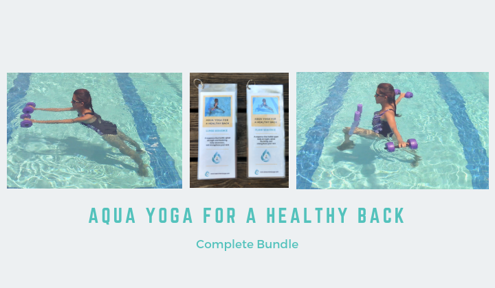 Aqua Yoga for a Healthy Back Complete Package