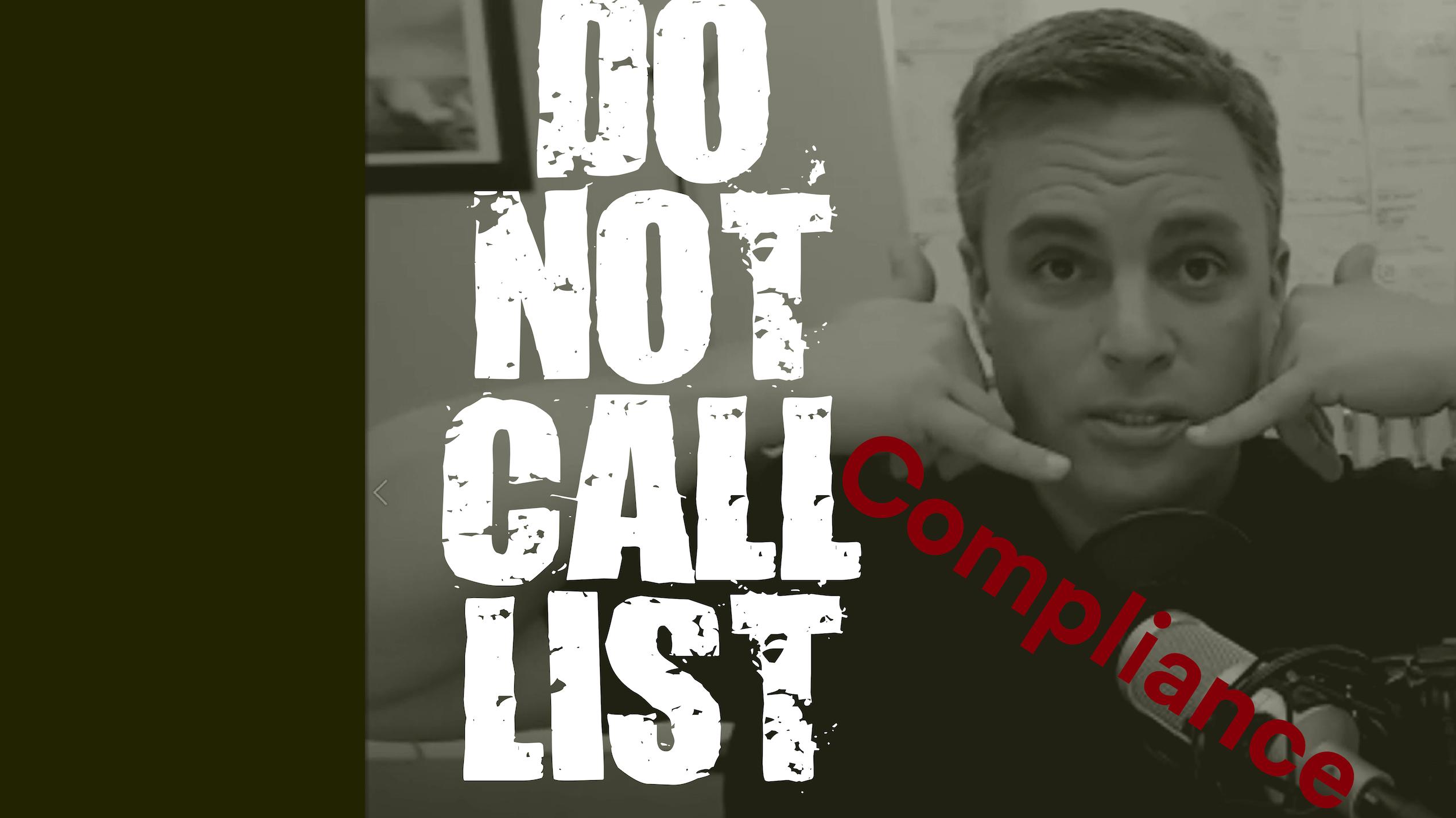 Do Not Call List Compliance and Mojo Database Setup