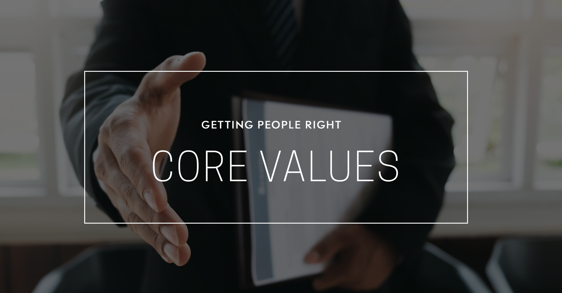 101 - Core Values