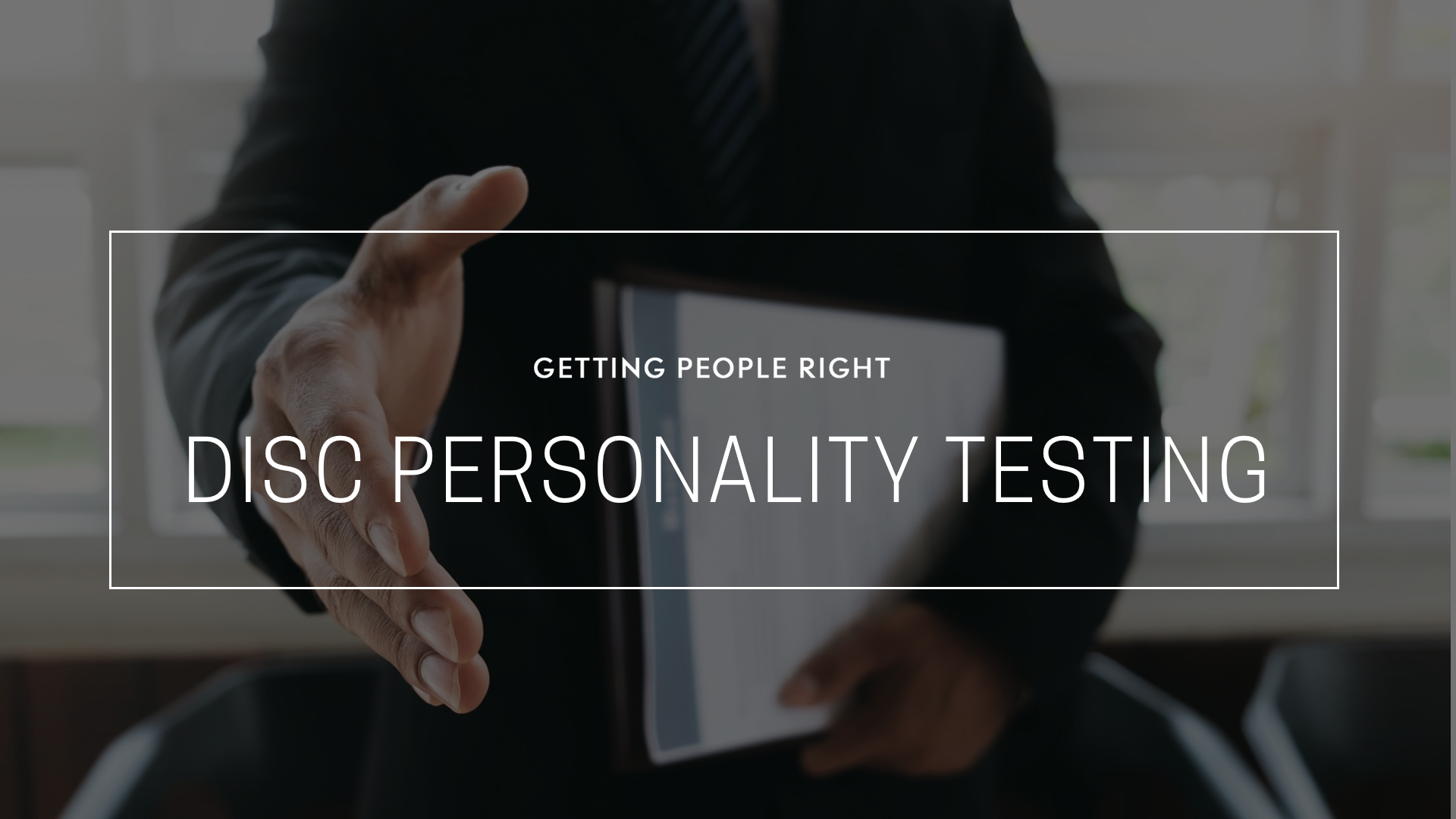 103 - Personality Testing Using DISC