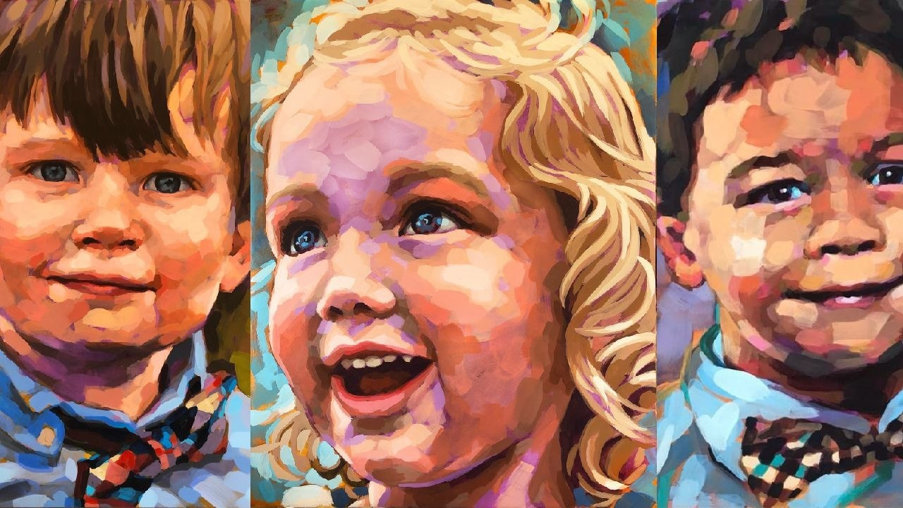 Portrait Painting with Ali Kay