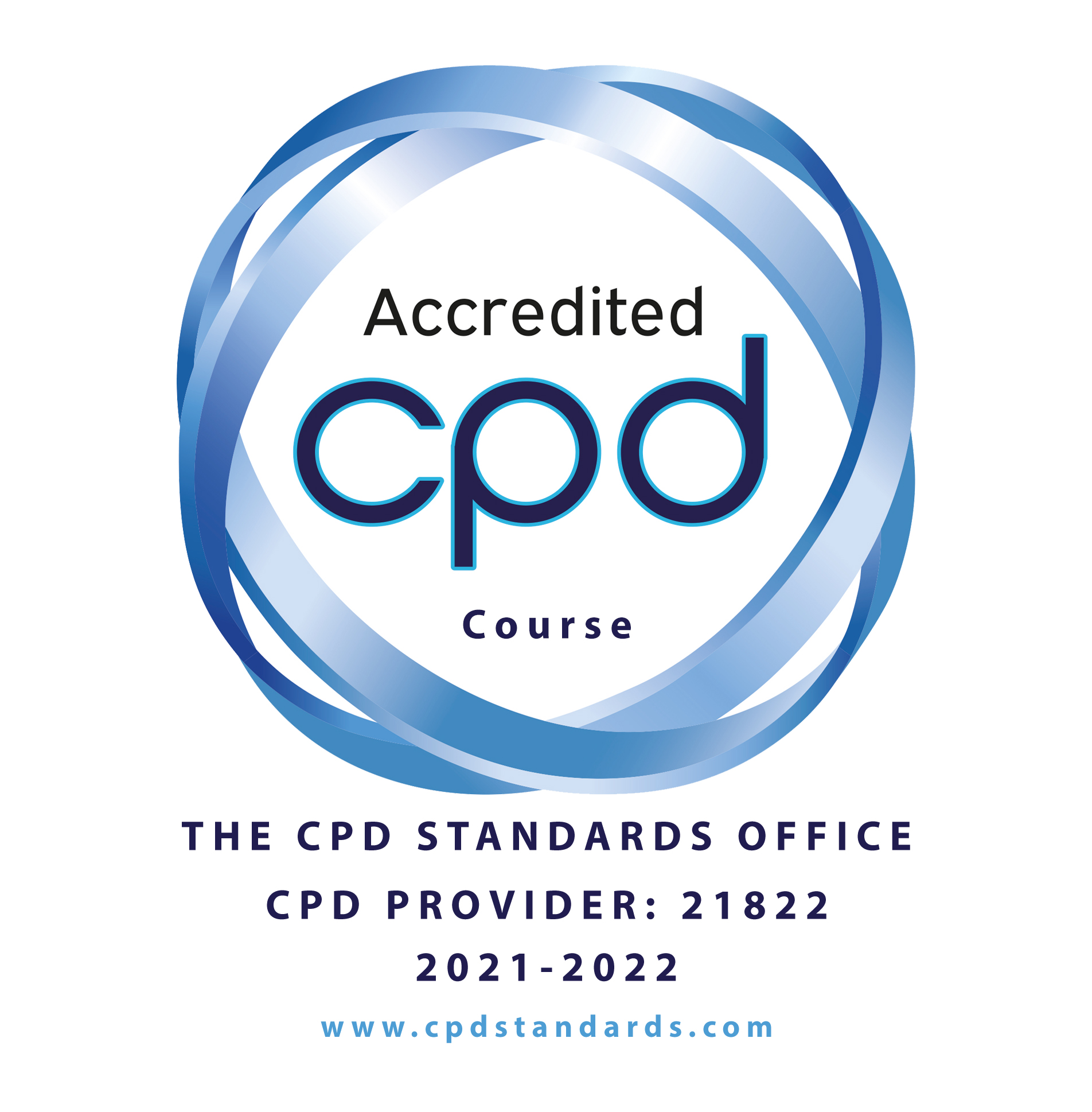 Accredited by the UK CPD Standards Office