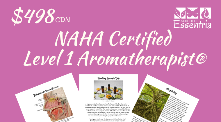 Level 1: NAHA Certified Level 1 Aromatherapist
