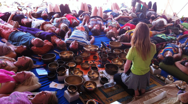 Healing Others with Singing Bowls Training
