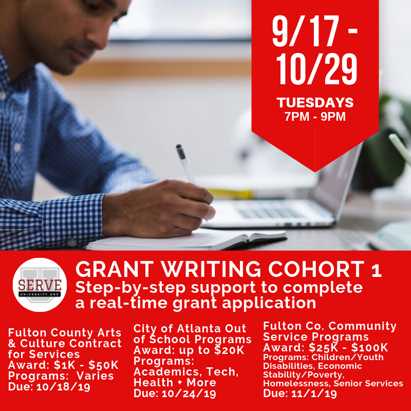 Grant Writing Cohort 1