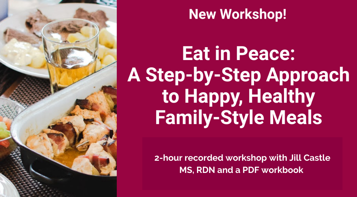 Eat in Peace Recorded Workshop