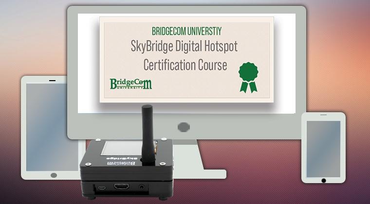 SkyBridge Dual Band Digital Hotspot Resources
