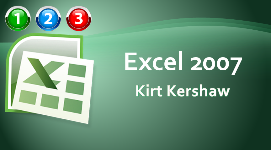 Excel 2007 Beginner to Advanced