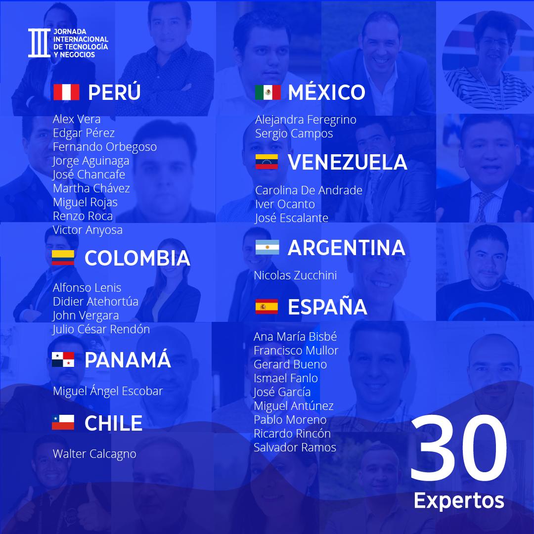 Panelistas Internacionales
