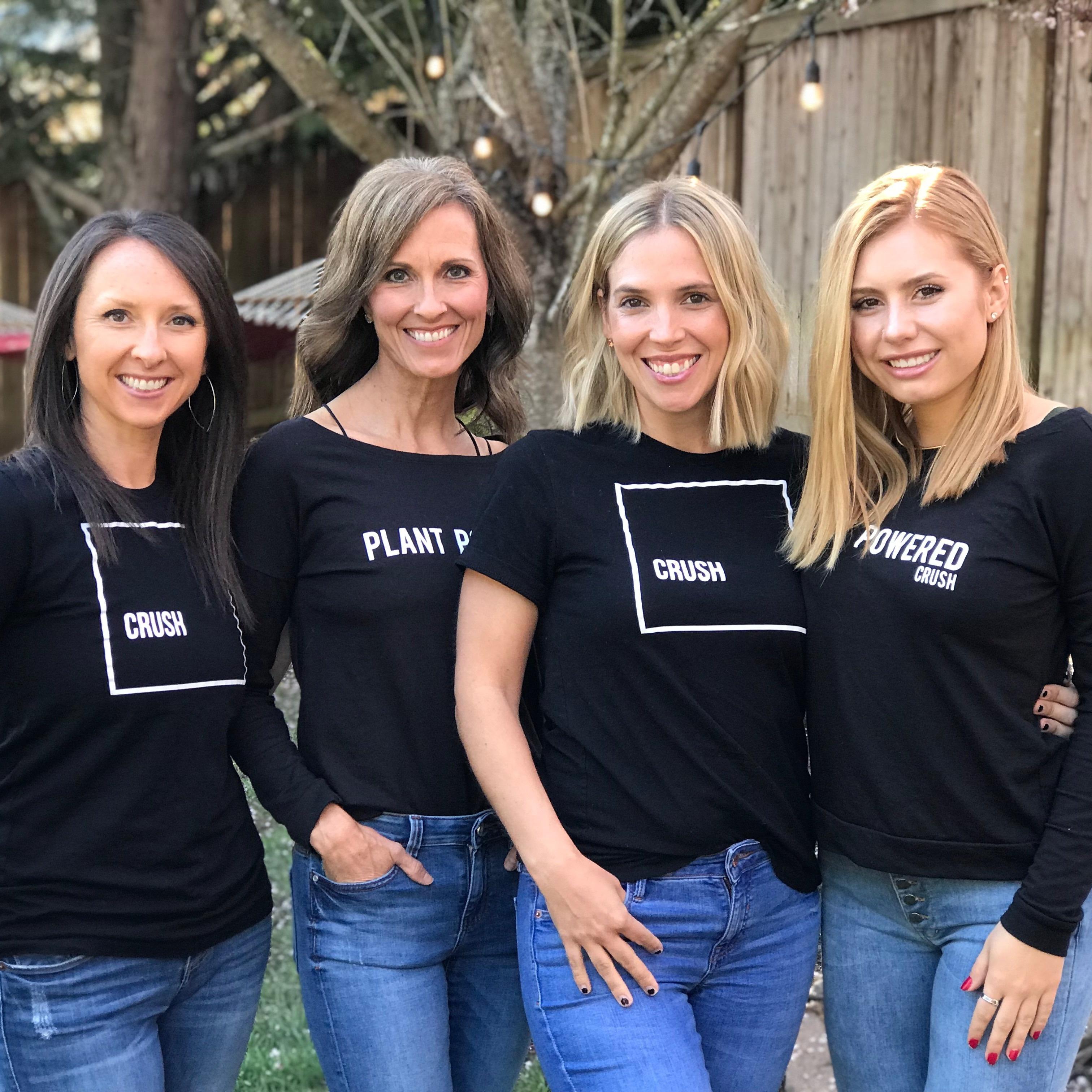 The Crush Crew:  Sarah, Tawnee, Cairi & Delaney