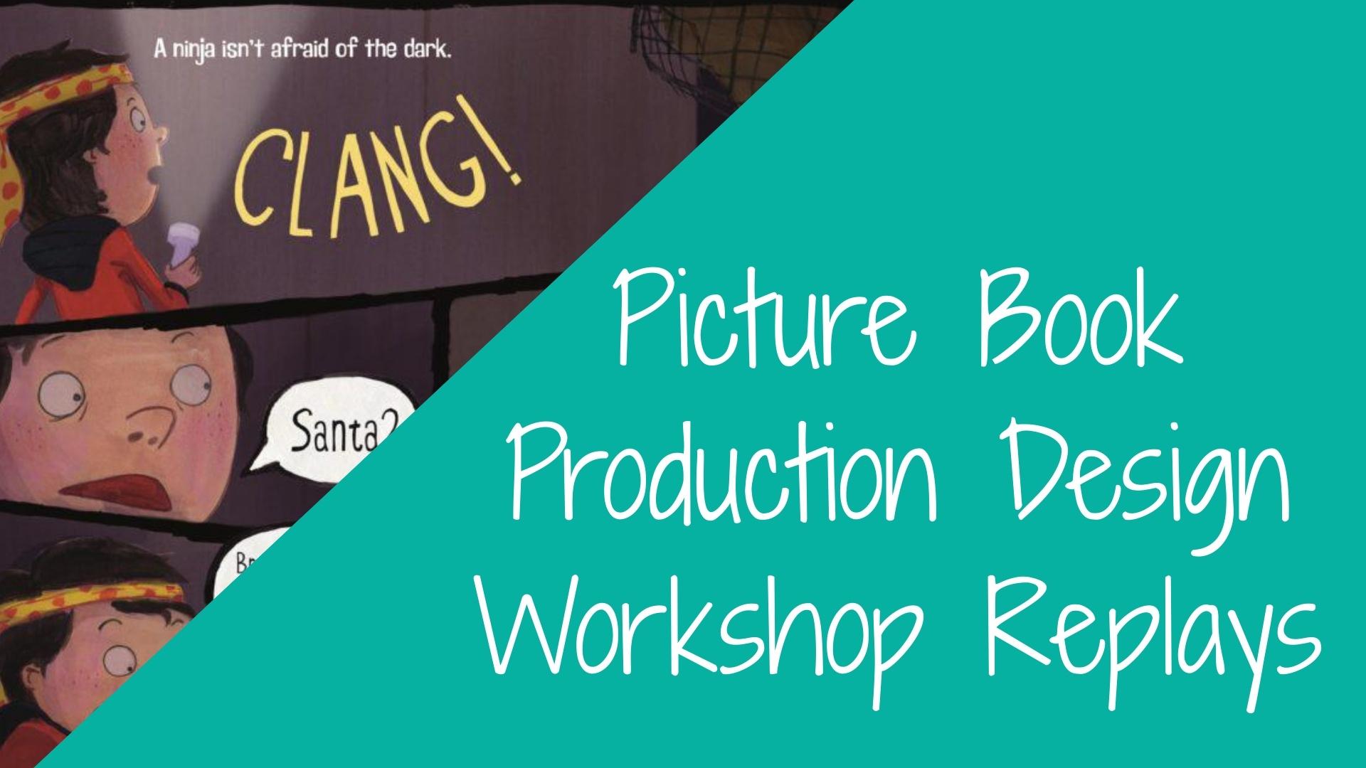 WORKSHOP: Picture Book Production Design