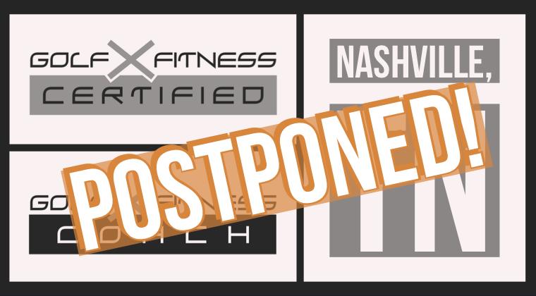 Nashville, TN Postponed