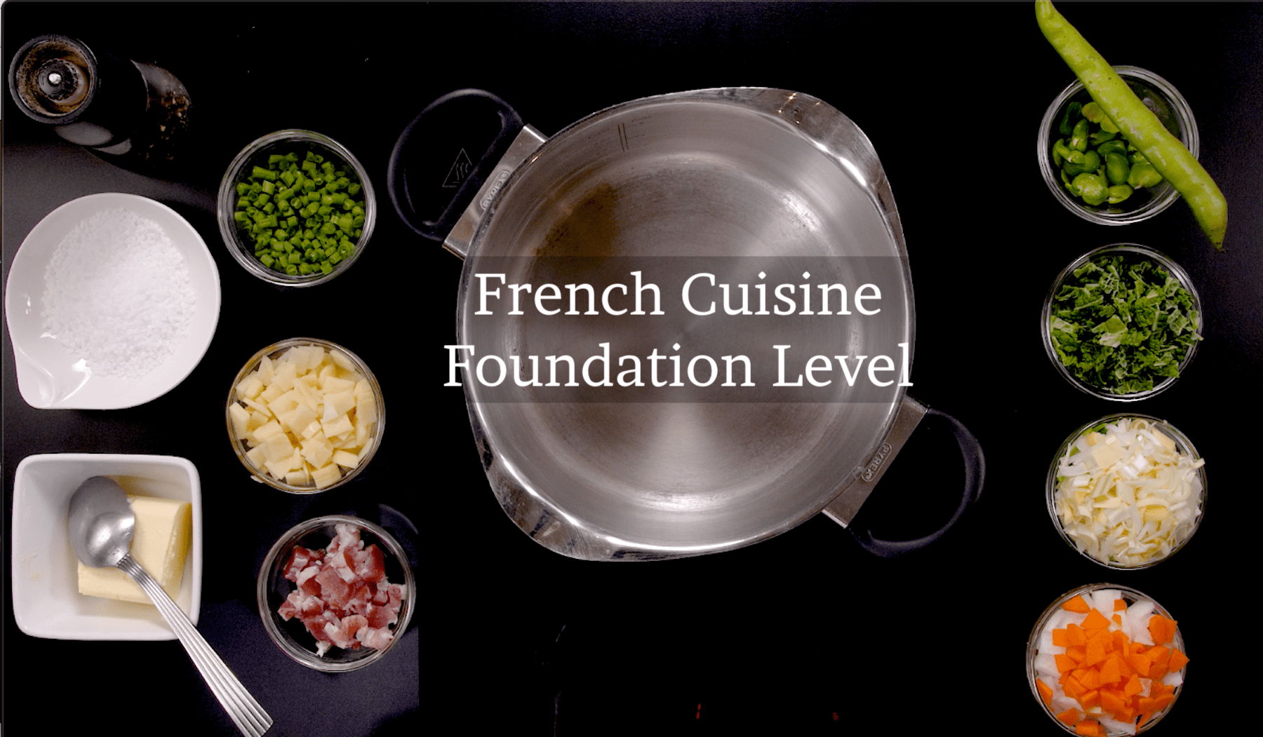 French Cuisine Foundation Level