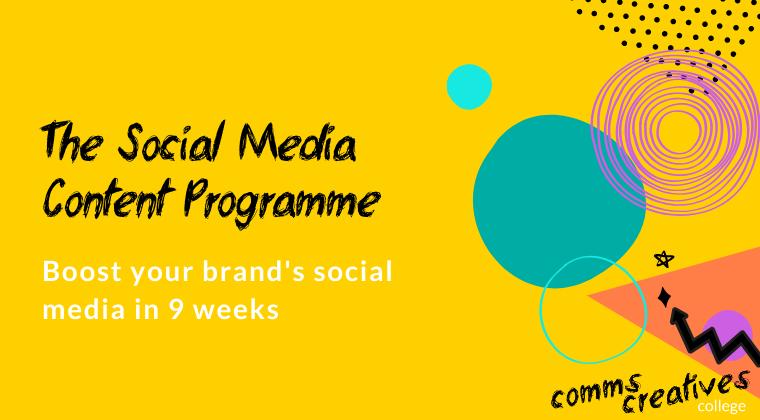 The Social Media Content Programme April 2020