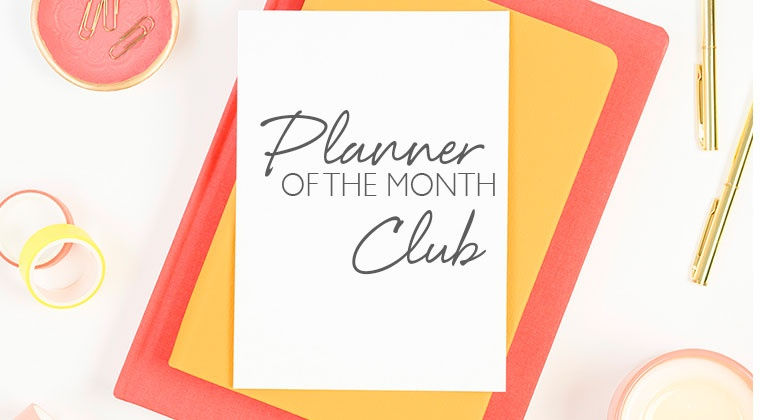 Planner of the Month Club