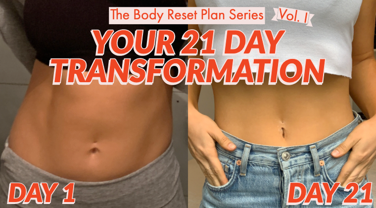 Body Reset Plan - Your 21 Day Transformation