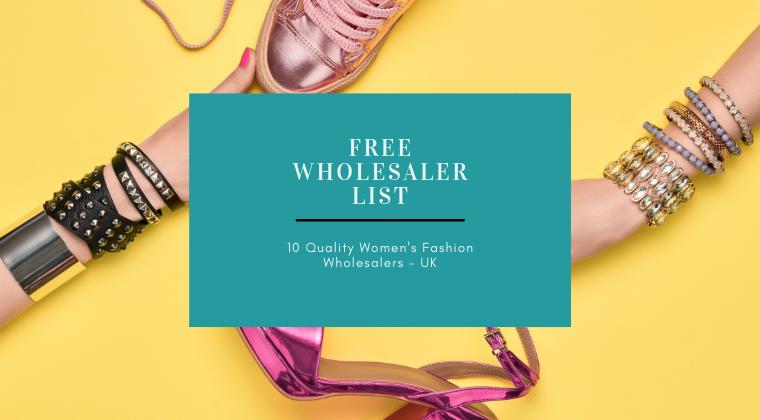 FREE Download - 10 UK Women's Fashion Wholesalers