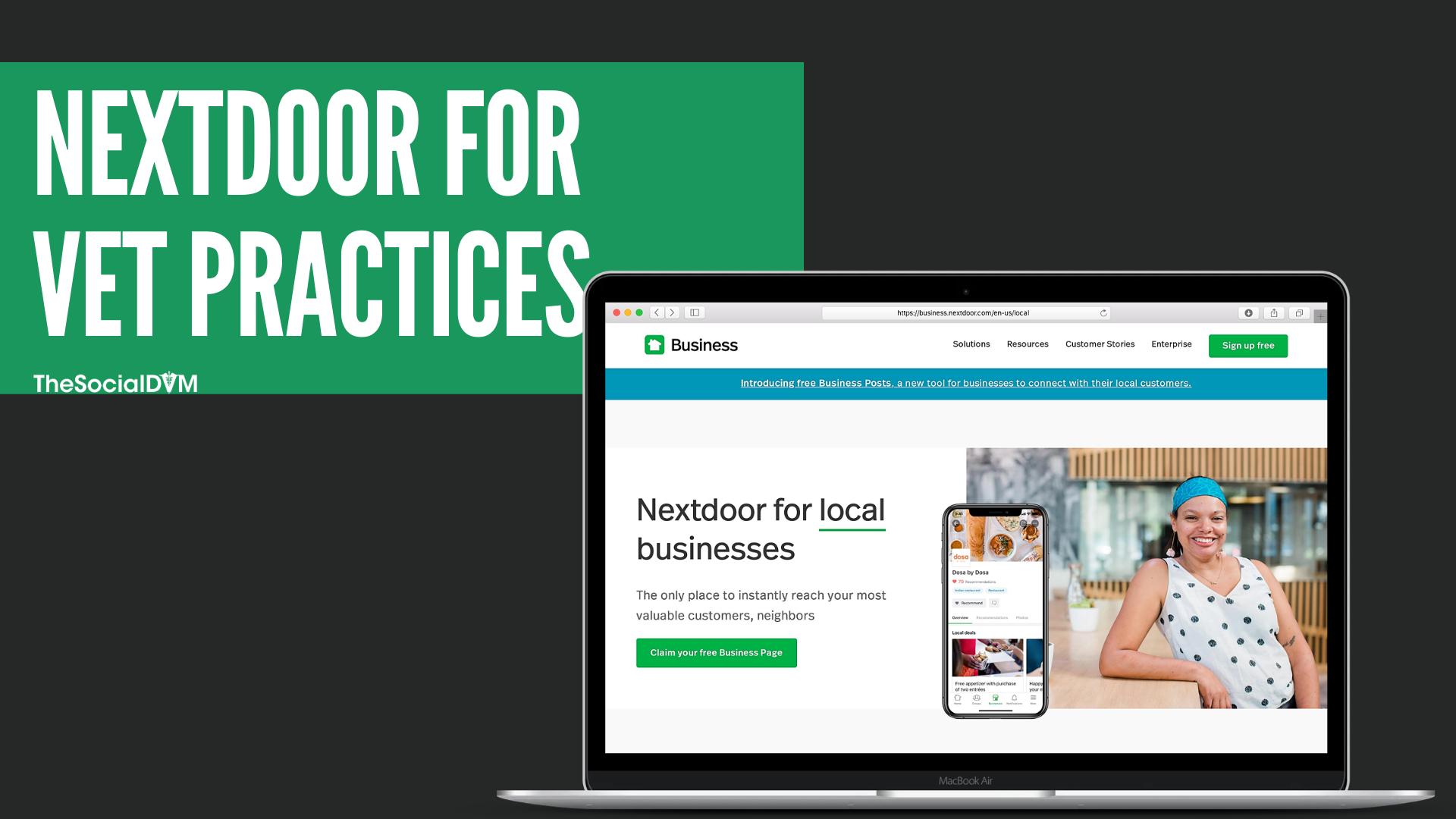 Nextdoor for Veterinary Clinics