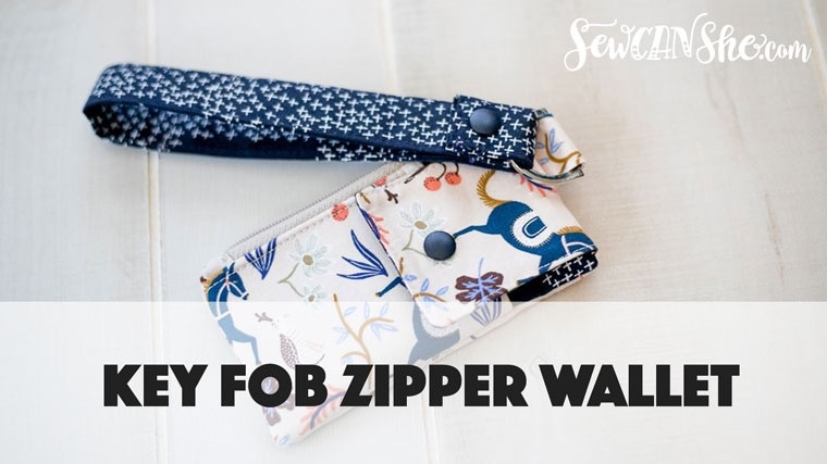 Key Fob Zipper Wallet Video Course