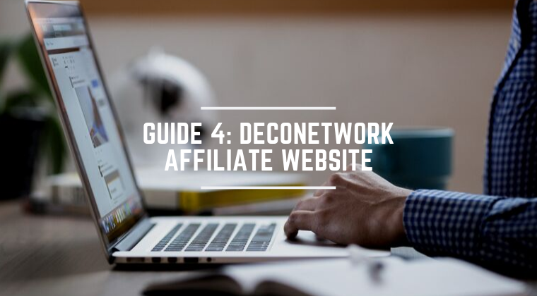 4. DecoNetwork Affiliate Website