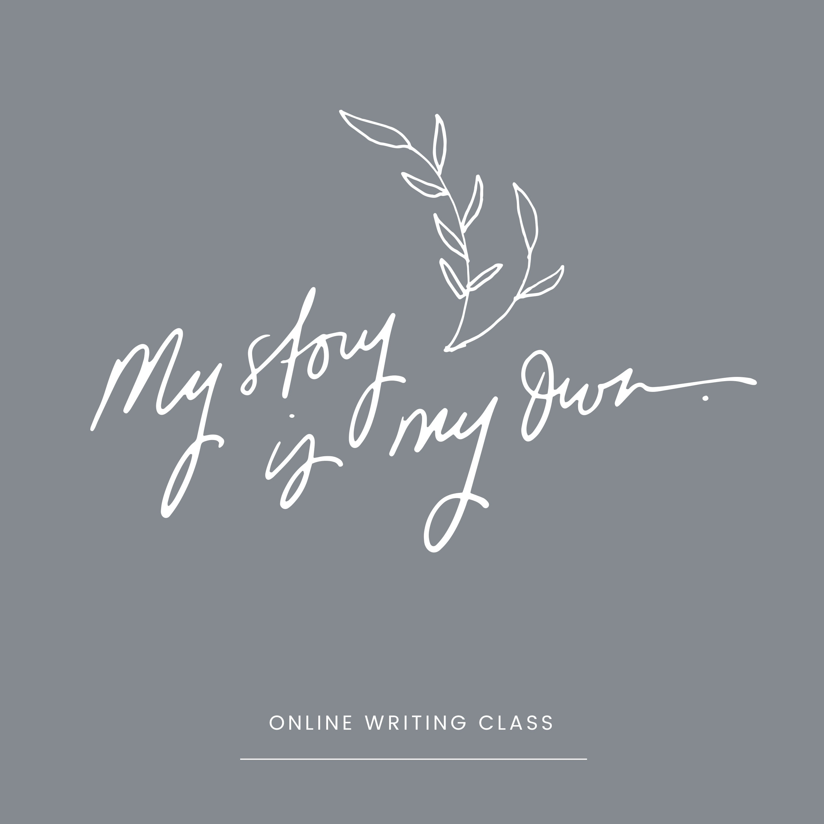 My Story is My Own - Elementary Online Book Writing Course ($2,997.00)