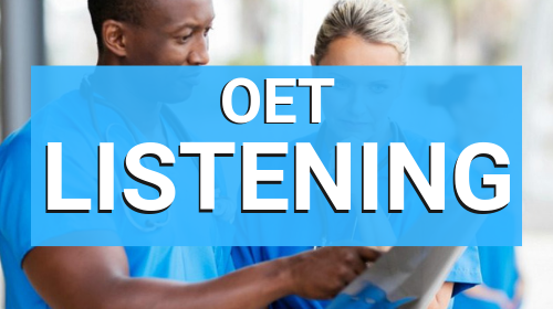 OET Listening Course