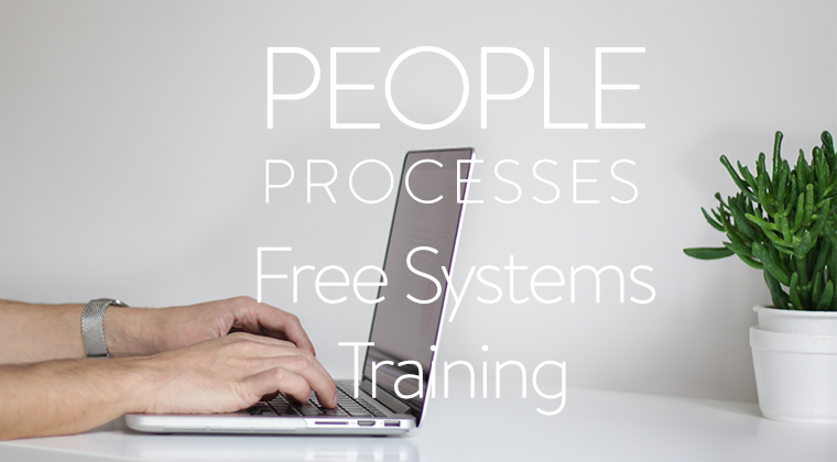 Free Trainings: For People Processes Systems Clients