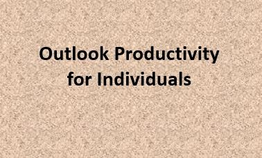 Outlook Productivity for Individuals