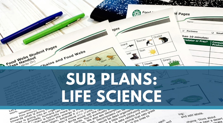 Sub Plans - Life Science