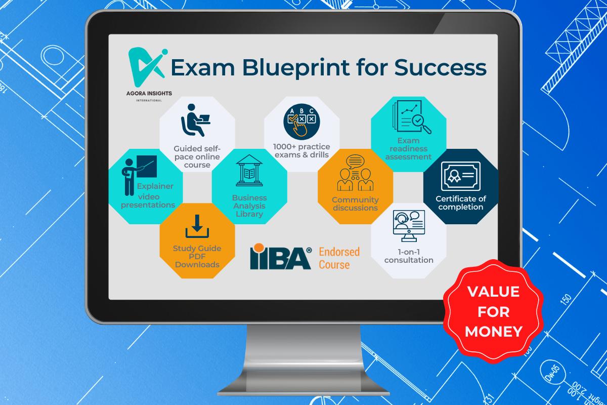 ECBA CCBA CBAP CCA IIBA exam preparation course
