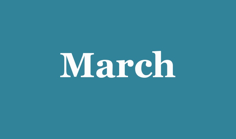 03 - March