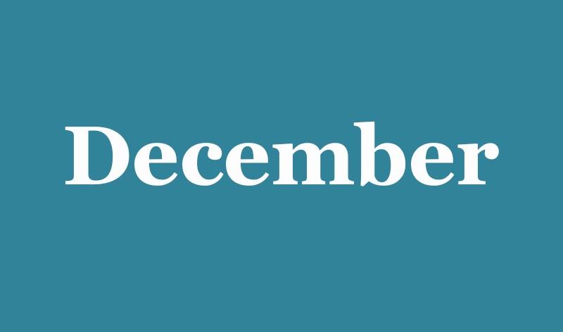 12 - December