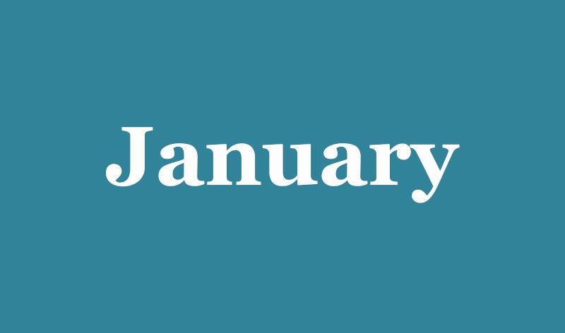 01 - January