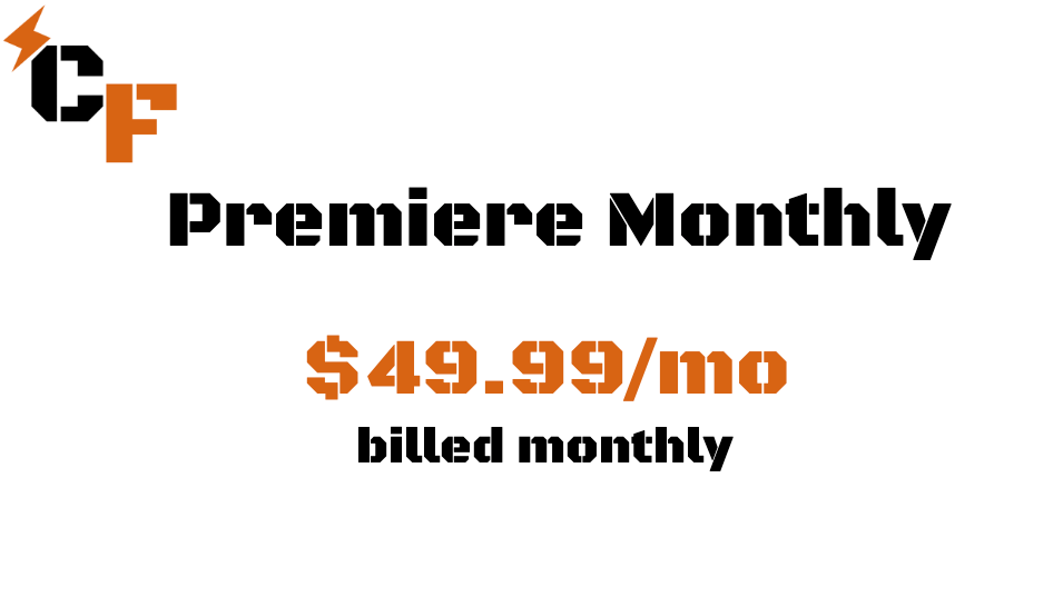 Premiere Monthly Subscription