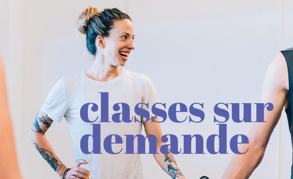 Classes en vidéo sur demande