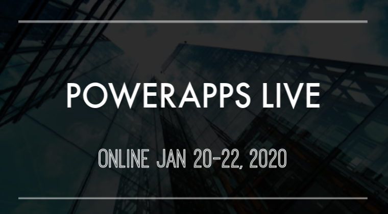 Advanced PowerApps Training Live Online - January