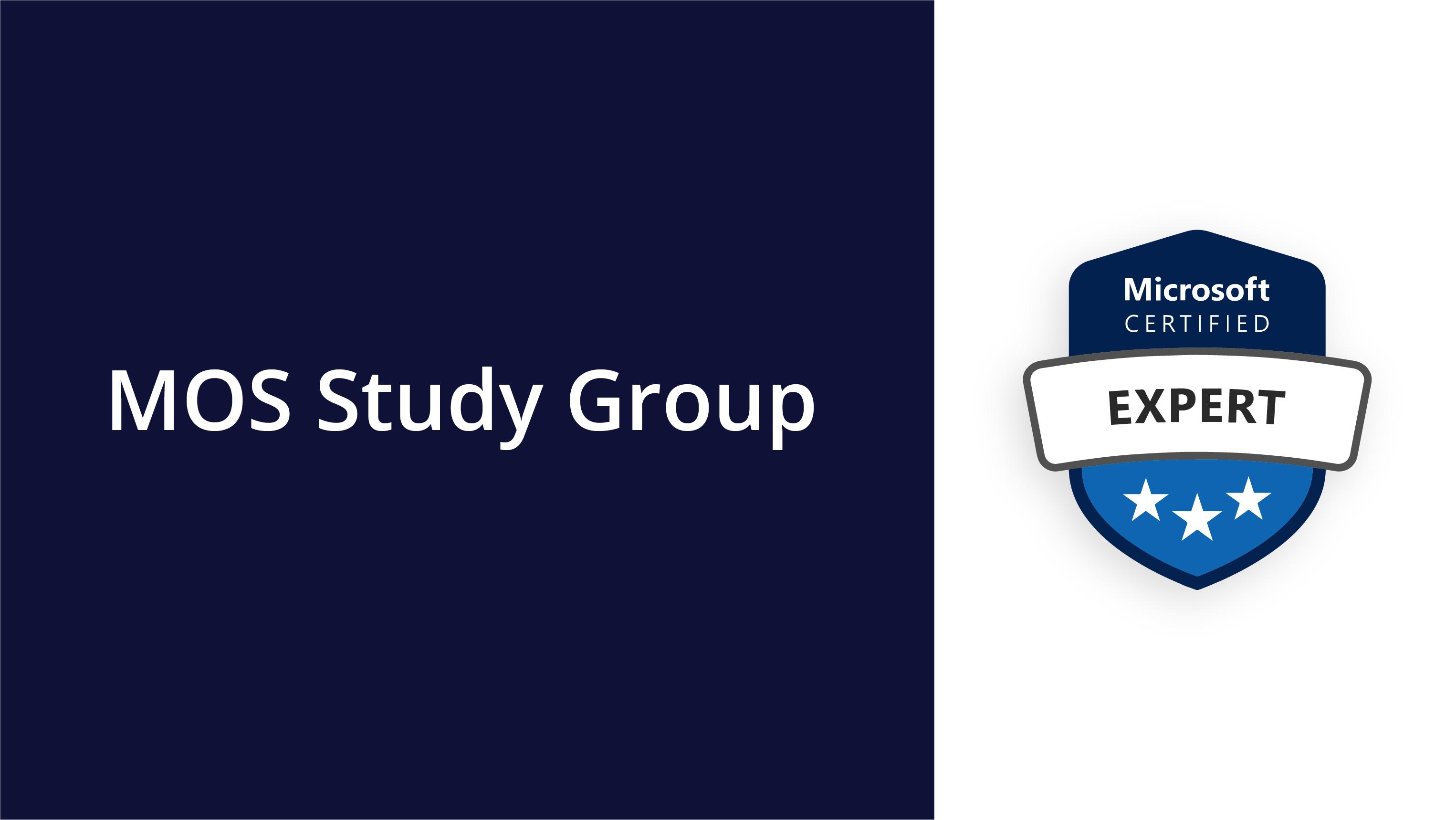 MOS Study Group