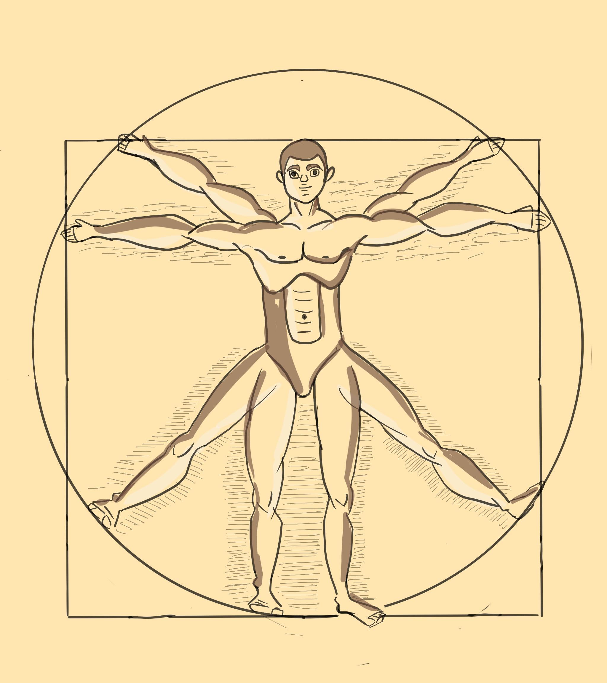 Illustrative Human figure