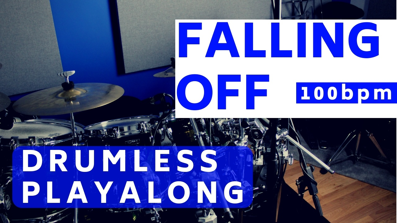 Falling Off Drum Track | Total Drummer - Online Drum Lessons