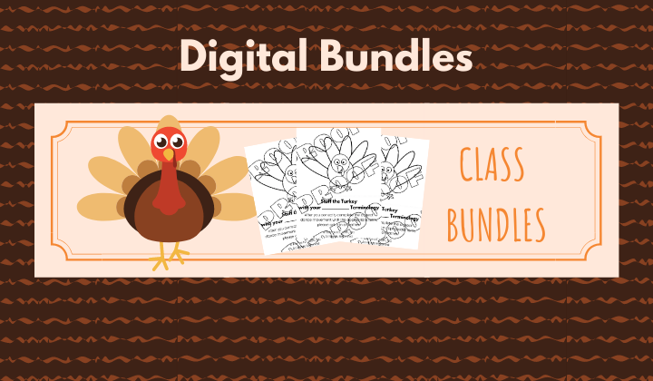Thanksgiving Digital Download Bundles