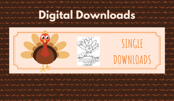 Digital Downloads - Thanksgiving