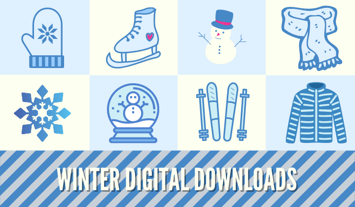 Winter Digital Downloads