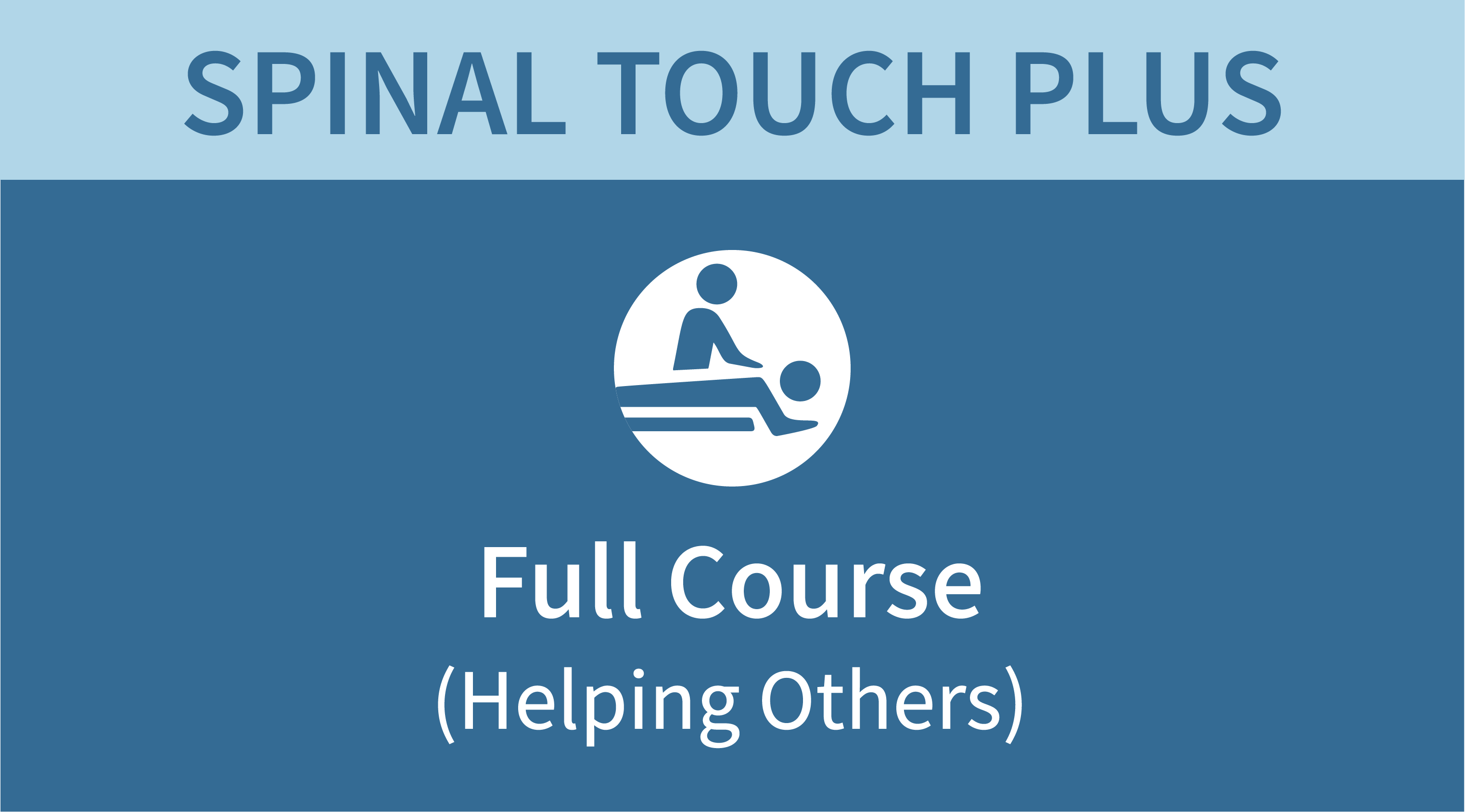 Spinal Touch Plus Course