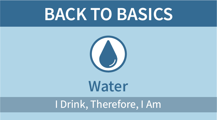 Back to Basics: Water