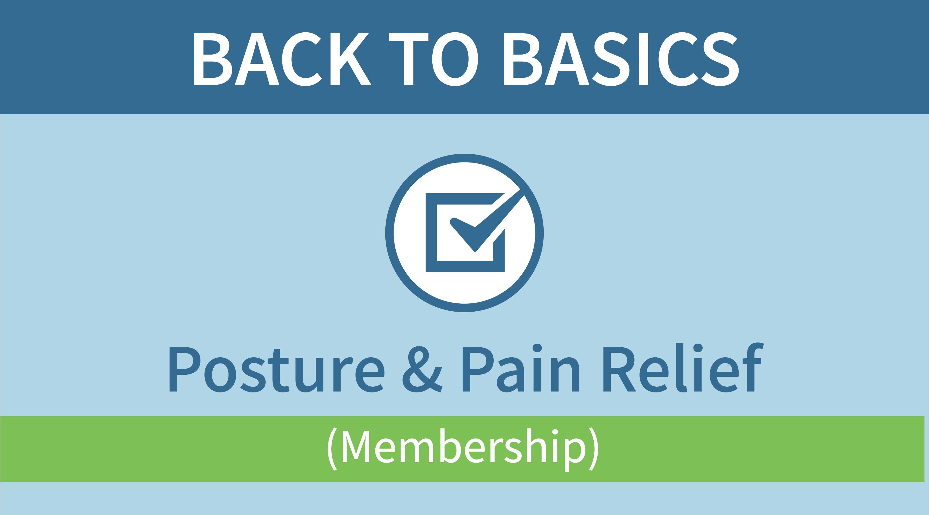 Back to Basics Membership