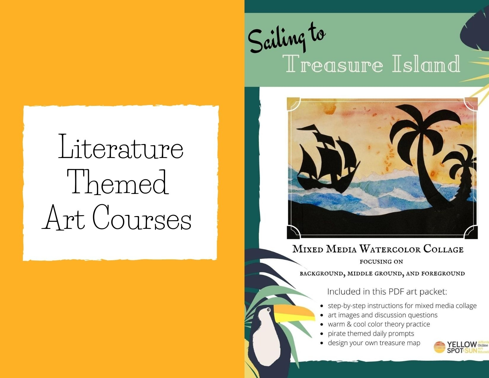 Literature Themed Art Courses