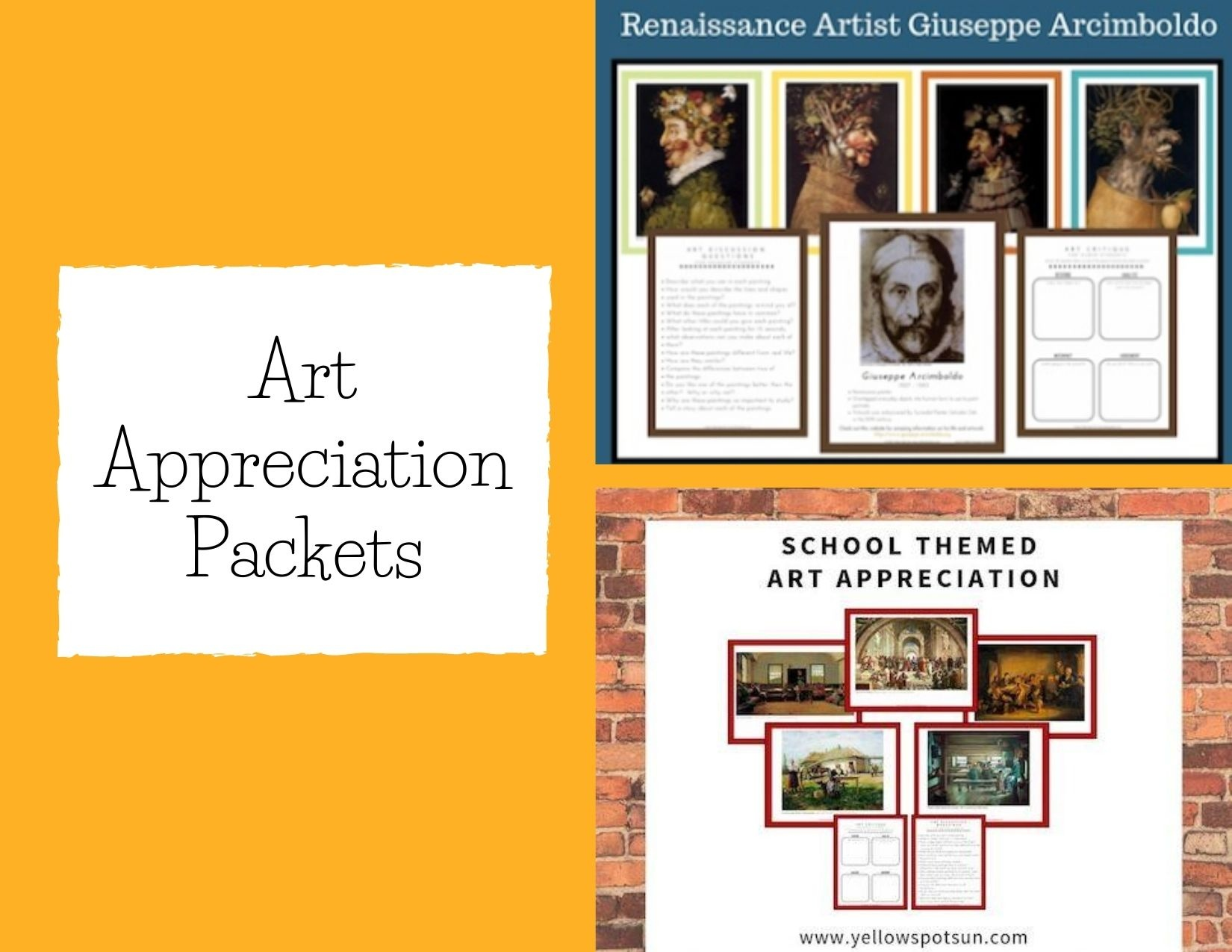 Art Appreciation Packets