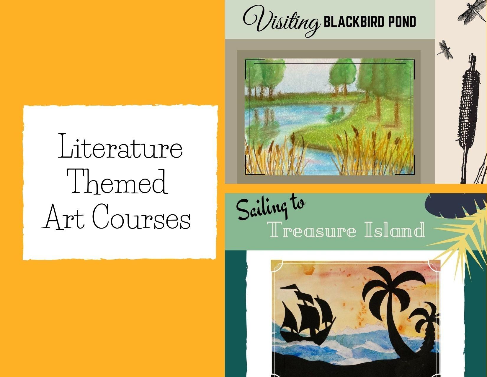 Literature Themed Art Courses